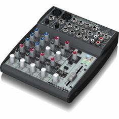 BEHRINGER 1002 Premium 10-Input 2-Bus Mixer with XENYX Mic Preamps and British Eqs