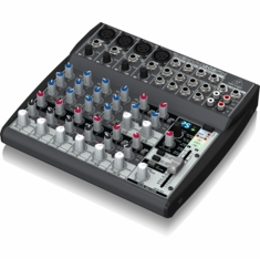 BEHRINGER 1202FX Premium 12-Input 2-Bus Mixer with XENYX Mic Preamps, British EQs and Multi-FX Processor
