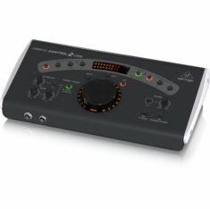 BEHRINGER CONTROL2USB High-End Studio Control and Communication Center with VCA Control and USB Audio Interface