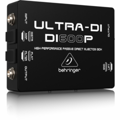 BEHRINGER DI600P High-Performance Passive DI-Box