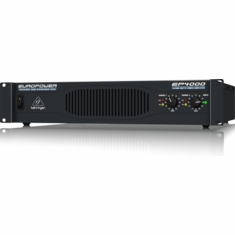 BEHRINGER EP4000 Professional 4,000-Watt Stereo Power Amplifier with ATR (Accelerated Transient Response) Technology