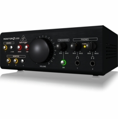 BEHRINGER MONITOR2USB High-End Speaker and Headphone Monitoring Controller with VCA Control and USB Audio Interface