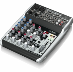 BEHRINGER Q1002USB Premium 10-Input 2-Bus Mixer with XENYX Mic Preamps & Compressors, British EQs and USB/Audio Interface