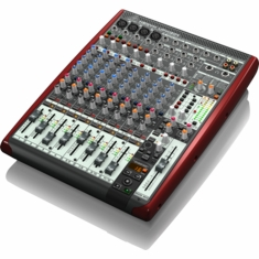 BEHRINGER UFX1204 Premium 12-Input 4-Bus Mixer with 16x4 USB/FireWire Interface, 16-Track USB Recorder