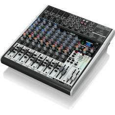 BEHRINGER X1622USB Premium 16-Input 2/2-Bus Mixer with XENYX Mic Preamps & Compressors