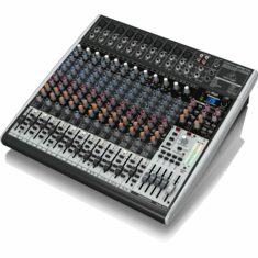 BEHRINGER X2442USB Premium 24-Input 4/2-Bus Mixer with XENYX Mic Preamps & Compressors
