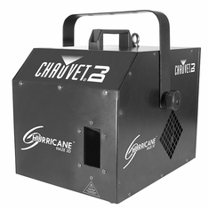 CHAUVET HURRICANE HAZE 3D Water-based haze machine creates a subtle atmosphere to enhance light shows