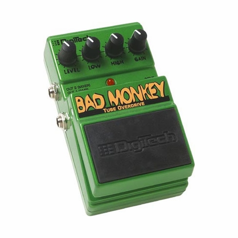 DIGITECH DBM BAD MONKEY Tube Overdrive with Cabinet Emulation Circuitry