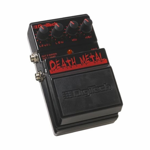 DIGITECH DDM DEATH METAL Metal Distortion with Dual Outputs