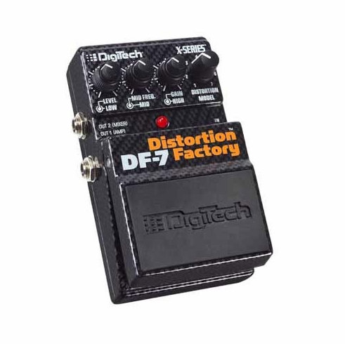 DIGITECH DF7 DISTORTION FACTORY 7 Different Distortion Models in 1 Pedal