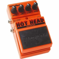 DIGITECH DHH HOT HEAD Distortion Multi-Purpose Pedal