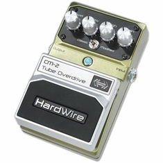 DIGITECH HARDWIRE CM-2 Tube Overdrive Performance Pedal