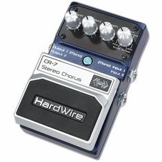 DIGITECH HARDWIRE CR-7 Stereo Chorus Performance Pedal
