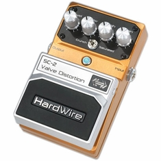 DIGITECH HARDWIRE SC-2 Valve Distortion Performance Pedal