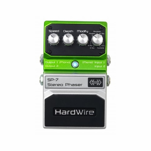 DIGITECH HARDWIRE SP-7 Stereo Phaser Pedal