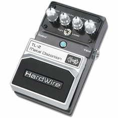 DIGITECH HARDWIRE TL-2 Metal Distortion Performance Pedal