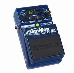 DIGITECH JAMMAN SOLO - Compact Looping Pedal with 35 Minutes of Internal Recording Capacity, SDHC Card Slot, and Software