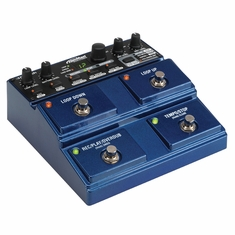 DIGITECH JAMMAN STEREO - Stereo Looping Pedal with 35 Minutes of Internal Recording Capacity, SDHC Card Slot, and Software