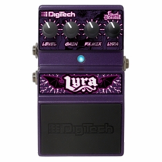 DIGITECH LYRA - Limited Edition stompbox with 7 Signature tones from Eternal Descent session