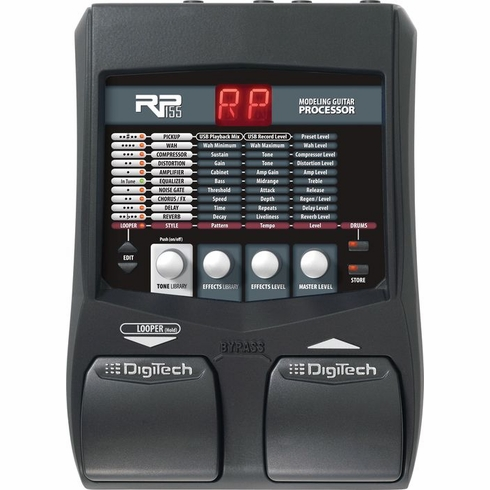 DIGITECH RP155 Guitar Multi-Effects Processor with Looper