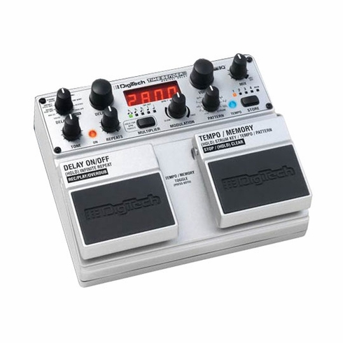 DIGITECH TIMEBENDER 10 Delays with Rhythmical Repeats & Intelligent Harmonies and Looper