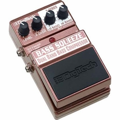 DIGITECH XBS BASS SQUEEZE Bass Multi-Band Compressor