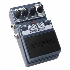 DIGITECH XDV DIGI VERB Digital Reverb with 7 Types