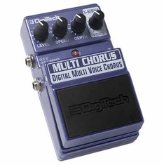 DIGITECH XMC MULTI CHORUS Multi-Voice Chorus with 16 Voices
