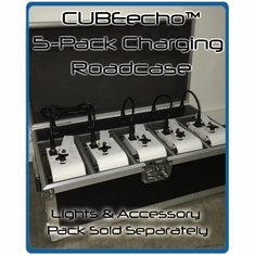 Eternal Lighting CUBEecho� 5 Pack Charging Road Case