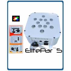 ETERNAL LIGHTING ElitePar�5 (White) 10 Watt RGBWA LEDs