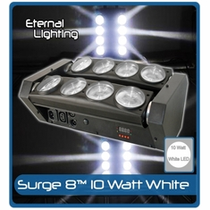 ETERNAL LIGHTING Surge8 White Beam