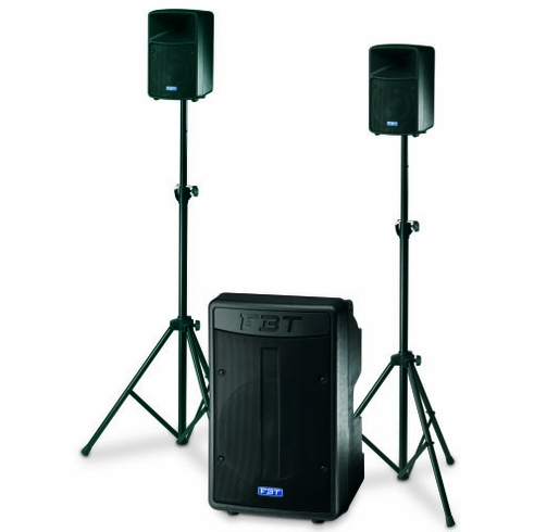 """FBT AMICO 10 USB Processed Active Sound System: 15"""" + 2x(6,5""""+1"""") - 500Wrms + 2x150Wrms"""