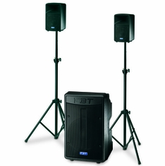 "FBT AMICO 10 USB Processed Active Sound System: 15"" + 2x(6,5""+1"") - 500Wrms + 2x150Wrms"