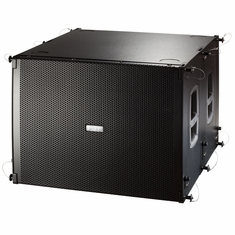 "FBT MUSE 118FSA Flyable compact 18"" subwoofer, can be hung forwards or rewards - 1200Wrms"