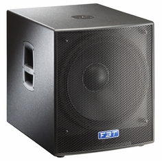 "FBT SUBLINE 18 SA Processed Compact Bass reflex Active Subwoofer - 18"" - 1200Wrms"