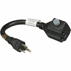 FURMAN ADP-1520B - ADAPTER CORD, 15A-20A with circuit breaker