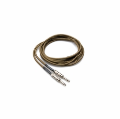 HOSA TECHNOLOGY GTR-518 Tweed Guitar Cable, Hosa Straight to Same, 18 ft