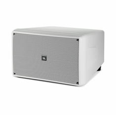 """JBL CONTROL SB-210-WH COMPACT 2-10"""" SUBWOOFER, WHITE"""