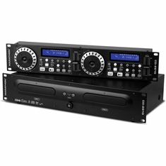 MARATHON CD-2610 PROFESSIONAL DUAL CD / MP3 PLAYER WITH ID3 TAG, SCRATCH, BRAKE, REVERSE EFFECTS