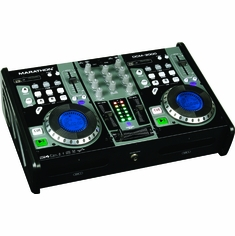 MARATHON DCM-3000 PROFESSIONAL CD SD USB MIX STATION WITH DIGITAL SCRATCH EFFECTS + FREE CARRYING CASE