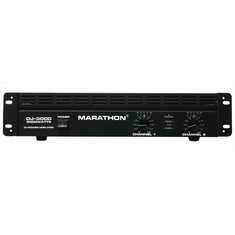 MARATHON DJ-5000 POWER AMPLIFIER - FREE SHIPPING