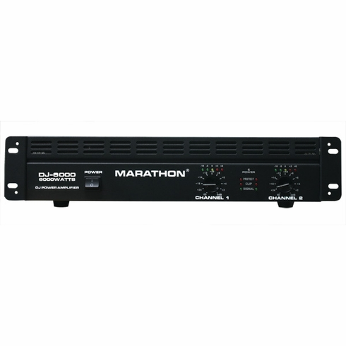 MARATHON DJ-6000 POWER AMPLIFIER - FREE SHIPPING