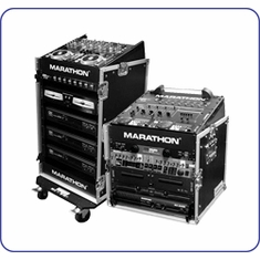 MARATHON FLIGHT MIXER COMBO DJ/MI SLANT RACK SYSTEMS - FREE SHIPPING