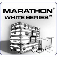 MARATHON � FLIGHT ROAD CASE �  WHITE SERIES �
