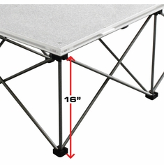 "MARATHON MA-484816RR 16"" High Collapsible Riser for 48"" X 48"" (4FT.) Platform"