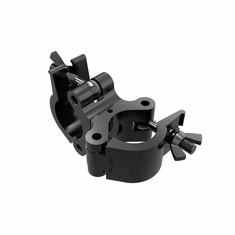 """ProDJ 2"""" SWIVEL JOINTED WRAP AROUND CLAMP BLACK POWDER COAT - MAX LOAD 1100Lbs."""