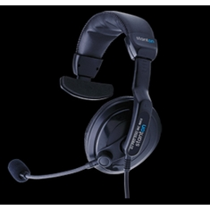 STANTON DJ PRO 500 MC (DJPRO500MC) Professional Headphone/Microphone Combo for DJs and Broadcasters