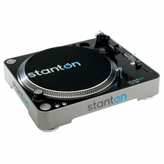 STANTON T.55 USB (T55USB) Belt-Drive Staright-Arm USB Turntable with 500V3 Cartridge