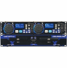 VOCOPRO CDG-8900 PRO Professional Dual Deck CD/CD+G Player with Key Control
