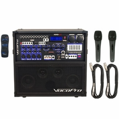 VOCOPRO HERO-REC BASIC 120W 4 Channel Multi-Format Portable P.A. System